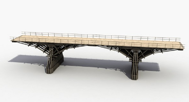 Bridge model by 3D Graphics